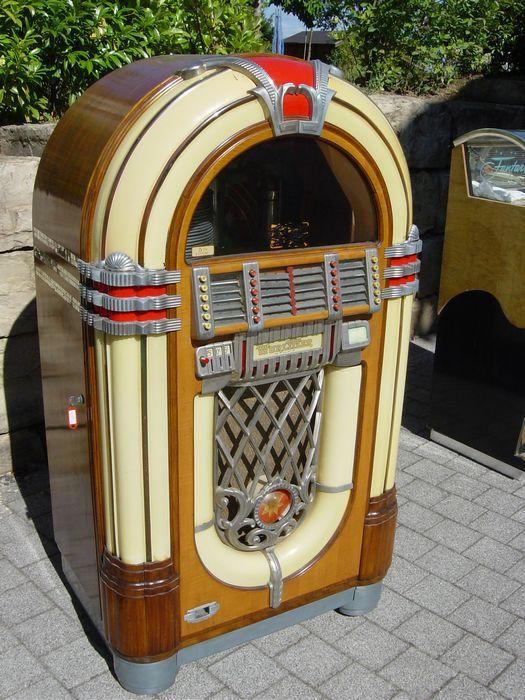 Jukebox lu - Wurlitzer 1015